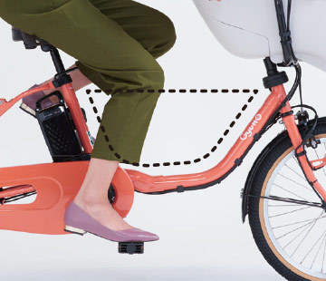 2020 ギュットクルームDX「BE-ELFD032」20インチ 3人乗り対応 電動自転車