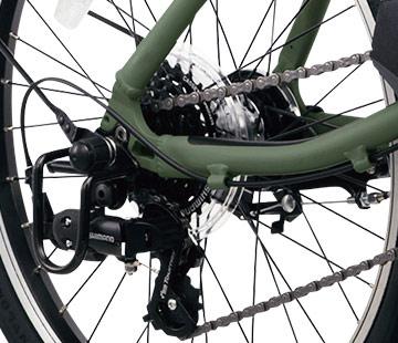 2020 ベロスター ミニ「BE-ELVS072」20インチ 7段変速 電動自転車