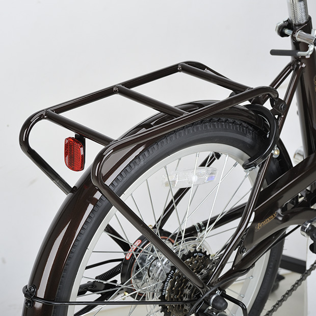 ロレンスFDB206 20インチ 折りたたみ自転車