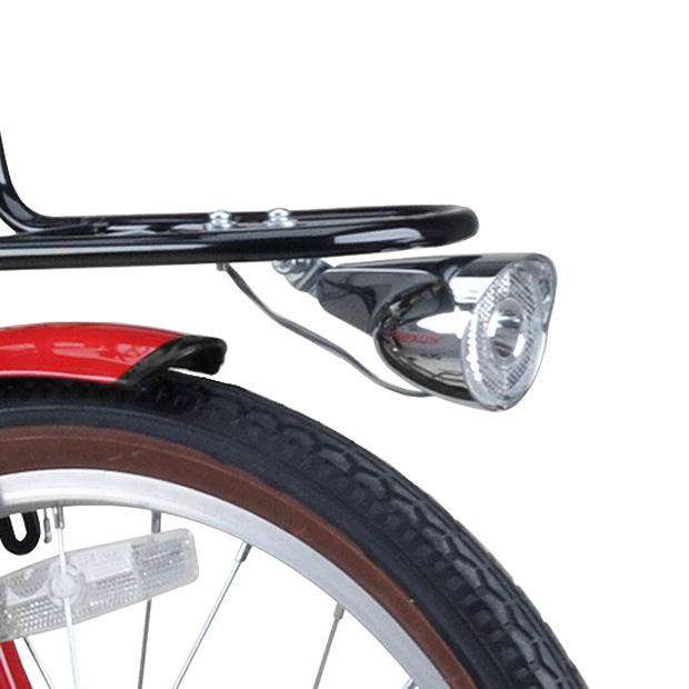 コンタナFDB206BAA バスケットなし 20インチ 折りたたみ自転車
