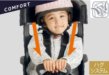 【後用 子供乗せ】ヘッドレスト付後子供乗せシート OGK GRANDIA(グランディア)RBC-017DX2 ヤマハ対応