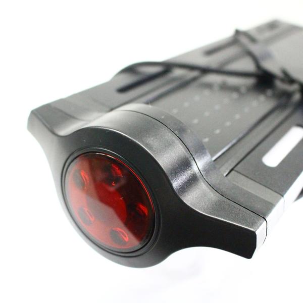 SW-QF-111 QR LEDライト付 シートポストキャリア