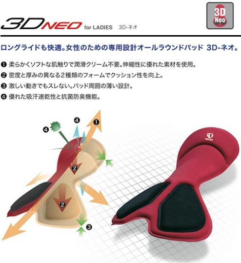 パールイズミ W749-3D 3Dメッシュインナーパンツ
