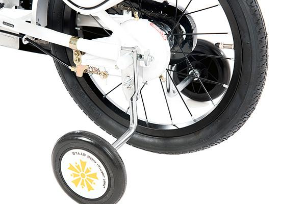 しろばい 白バイ 160-J 16インチ 子供用 ヒーローモーターズ 働く車 緊急車両 自転車
