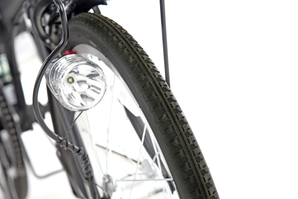 カジュリーフォールディング-L 20インチ 外装6段変速 オートライト 折りたたみ自転車