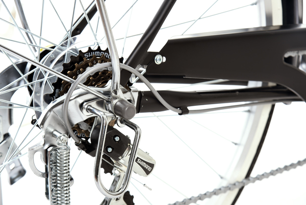 カジュリー リラックス-L 24インチ 6段変速 ダイナモライト シティサイクル 自転車