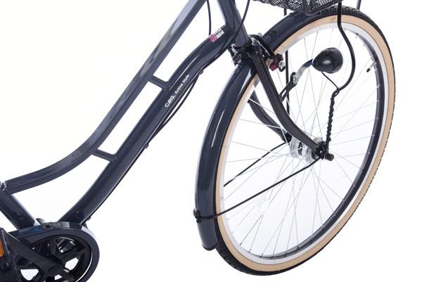 カーグアクティブ-L 26インチ 6段変速 オートライト シティサイクル 自転車