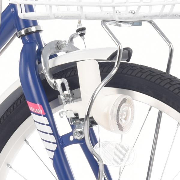 ガールズ ラボ スポーティー-K 22インチ 6段変速 ライト 子供用 自転車