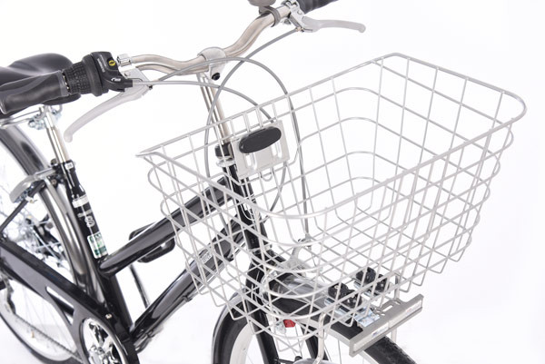 トラッドラインS-L 27インチ 6段変速 オートライト シティサイクル 自転車