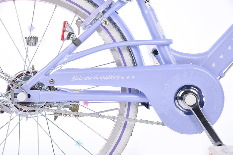 メゾピアノ-L ナルミヤインターナショナル 22インチ 変速なし オートライト 子供用 自転車