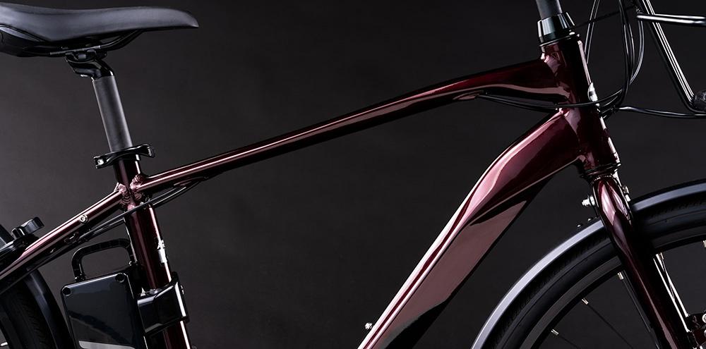 オフィスプレスe-L 700C 8段変速 電動自転車 クロスバイク