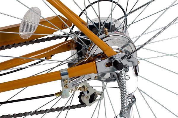 イノベーションファクトリーCITY -L フル装備 26インチ 6段変速 ダイナモライト シティサイクル 自転車