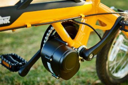 LOG OUTRUNK e(ログ アウトランク e)-L 14インチ 変速なし 折りたたみ 電動自転車