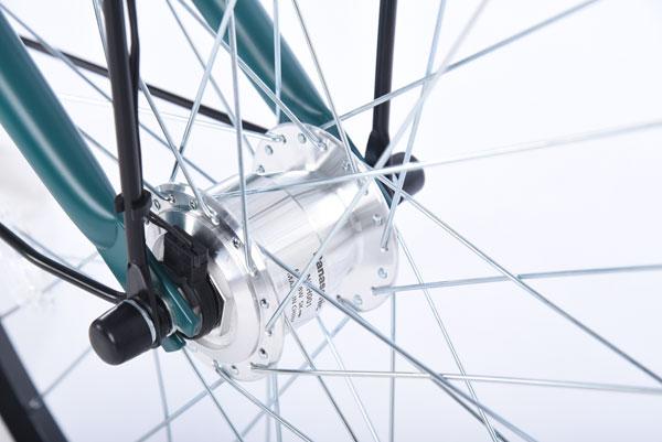 カーグバケットBAA-L 24インチ 変速なし オートライト シティサイクル 自転車
