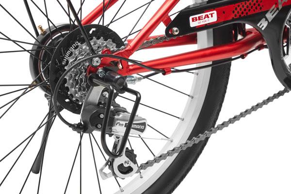 ドライド BEAT 206-L 20インチ 外装6段変速 子供用 自転車