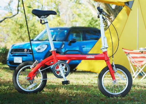 LOG OUTRUNK(ログ アウトランク)-L 14インチ 変速なし 折りたたみ自転車