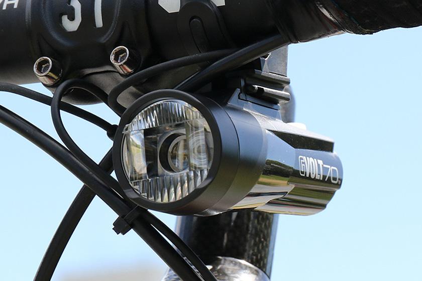 HL-EL551RC GVOLT70(ジーボルト70)バッテリーライト USB充電式 明るさ:260ルーメン