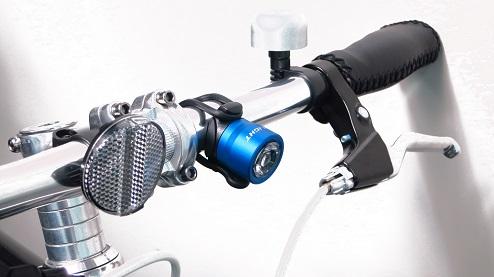 CG-212W セーフティライト フロント用 コイン電池式 明るさ:17ルーメン