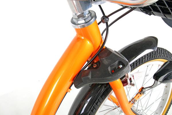 ふらっかーずシュシュ-I 20インチ 3人乗り対応 あさひ限定 自転車