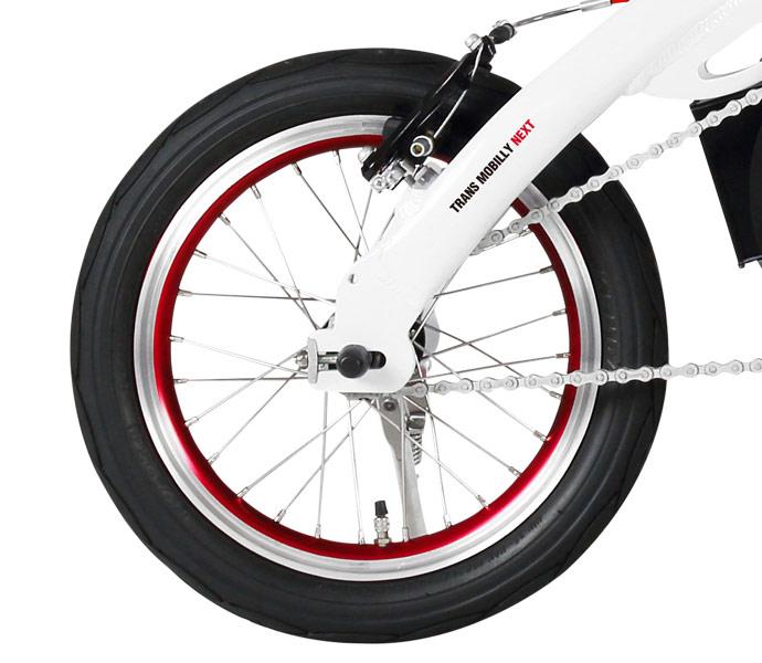 TRANS MOBILLY E-BIKE NEXT140 14インチ 変速なし 電動自転車 折りたたみ自転車