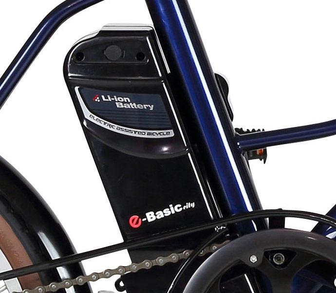 TRANS MOBILLY E-BASIC シティ(トランスモバイリー イーベーシックシティ)20インチ 変速なし 電動自転車