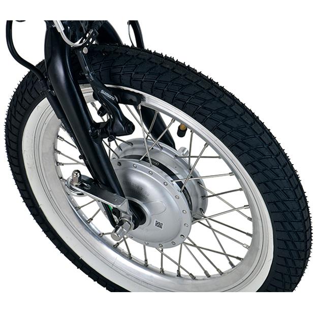 mini Fold 16 Classic (ミニフォールド16クラシック) 16インチ シングルスピード 電動自転車 折りたたみ自転車