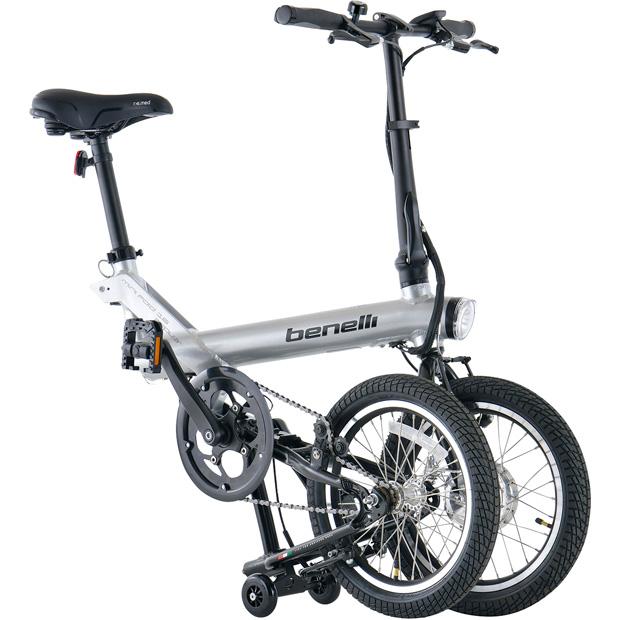 mini Fold 16 popular (ミニフォールド16ポピュラー) 16インチ シングルスピード 電動自転車 折りたたみ自転車