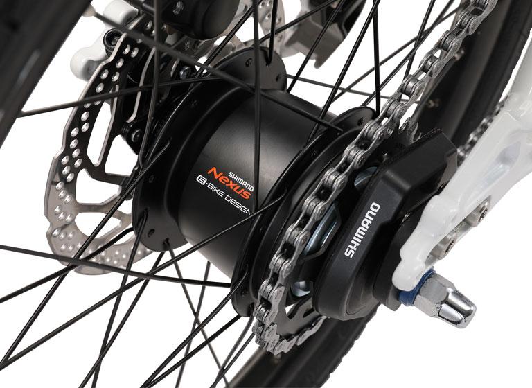 EASEL INTER5E Di2(イーゼルインター5イーDi2)20インチ 電動自転車 ミニベロ