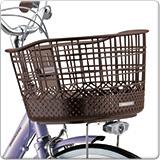 アルミーユ「AU63BT」26インチ 3段変速 オートライト ベルトドライブ シティサイクル 自転車