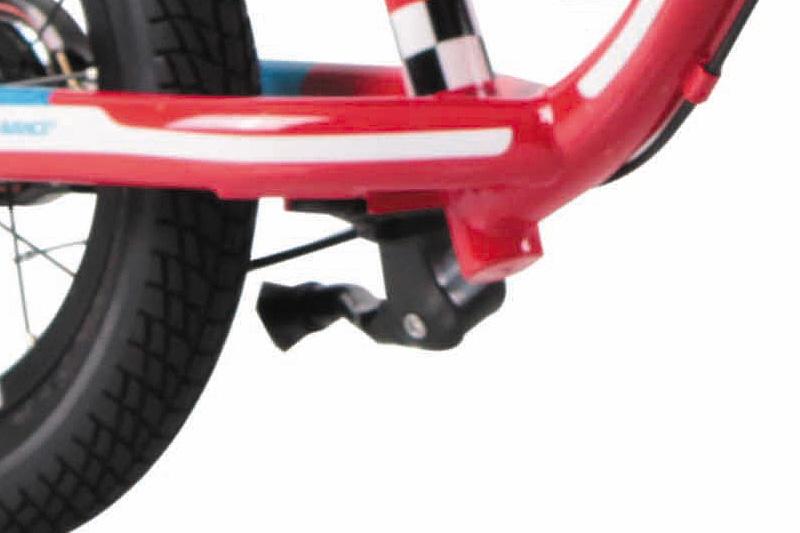 キッカーアバンス マリオカート-I 12インチ 自転車に早く乗るためのブレーキ付トレーニング用バイク