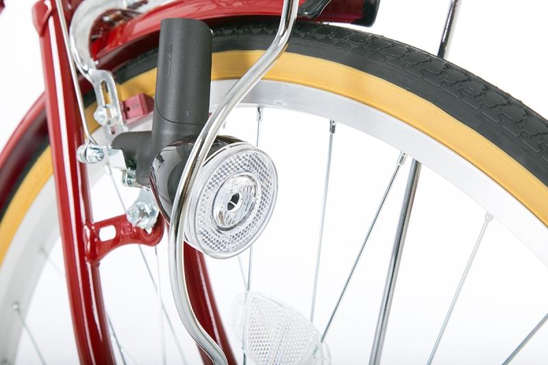 シエロア -L 24インチ 変速なし ダイナモライト シティサイクル 自転車