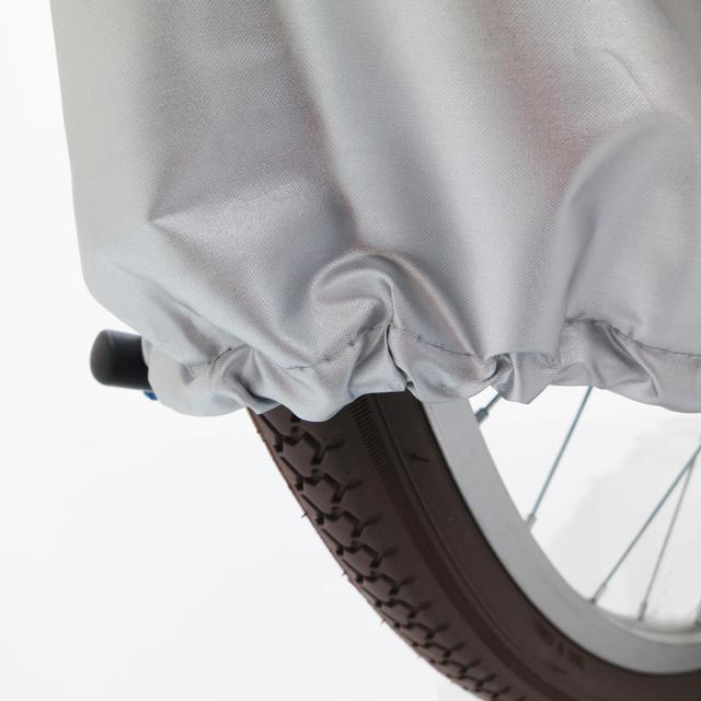 自転車カバー 一般車用DX サイクルカバー 防水 厚手 丈夫 飛ばない 破れにくい