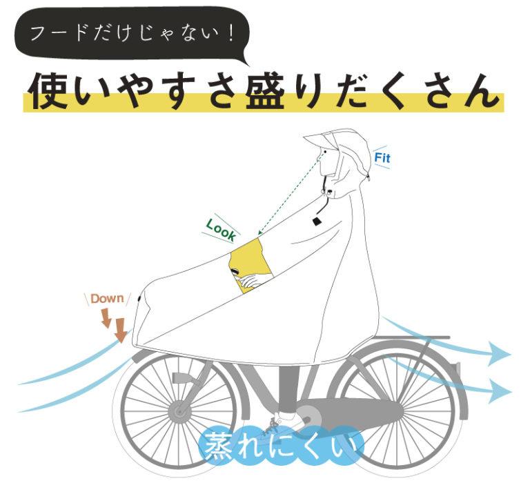 自転車屋さんのポンチョ・ノーブル「D-3PO-PG」