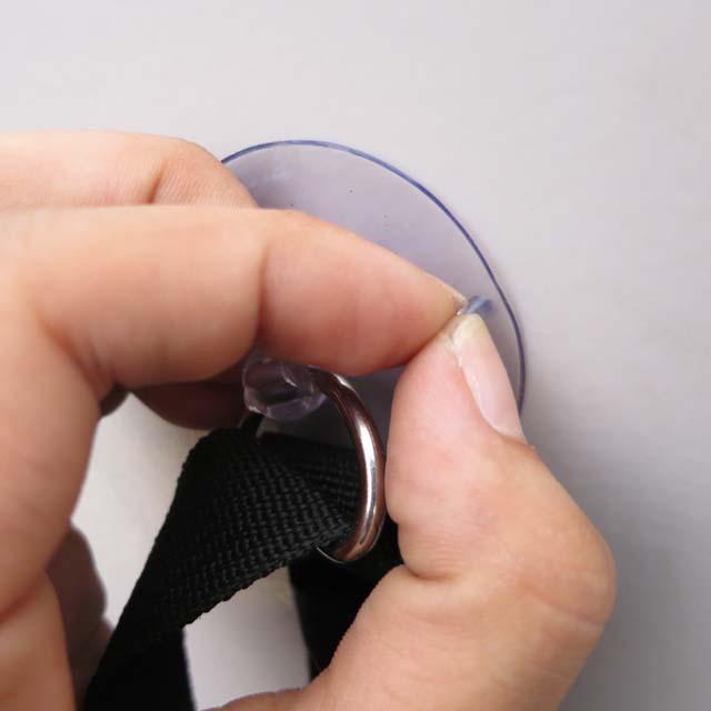 [RC504]どこでもペッタン 輪行袋を車内に留めておく為のアイテム 輪行時の必需品