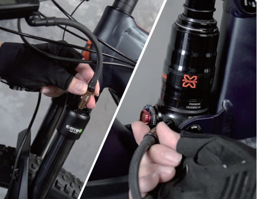 Pocket Shock Digital(ポケットショック デジタル)米式バルブ専用 ショックポンプ