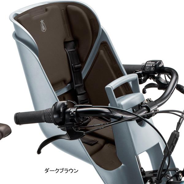 ブリヂストン[BRIDGESTONE] ビッケ グリ モブ用 フロントチャイルドシートクッション FBIK-K CSSL1702B BOSL1703 チャイルドシート
