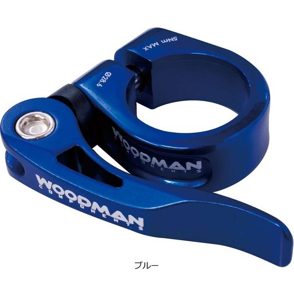 ウッドマン[Woodman] Deathgrip QR(デスグリップOR)シートクランプ クイックレリーズタイプ サドル/シートポスト