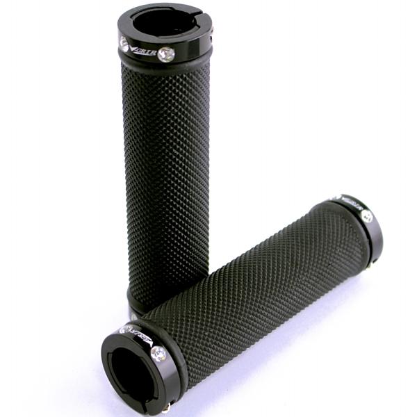ブイグリップ[V-GRIP] V-818ACD クリスタルロックオングリップ 長さ:130mm バーテープ/グリップ