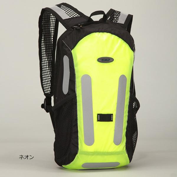 オーストリッチ[OSTRICH] バックパックライト5.5 ブルベ・自転車通勤におすすめな反射リフレクター付きバックパック 容量:5.5L バッグ類