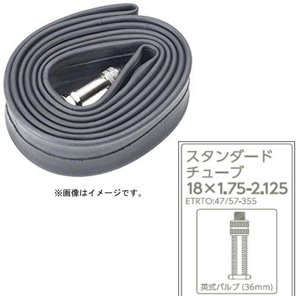 あさひ[ASAHI] ブチルチューブ サイズ:18x1.75-2.125 18型用 英式バルブ バルブ長:30mm タイヤ/チューブ/小物