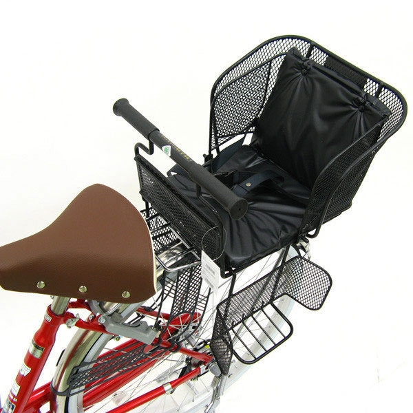 あさひ[ASAHI] 【後用 子供乗せ】新SG規格対応 後ろ用バスケットチェア(クッション付属)子供乗せ自転車 一般車用 チャイルドシート
