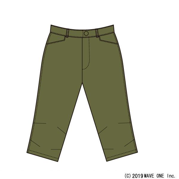 カペルミュール[KAPELMUUR] ストレッチ脚長クロップドパンツ [kpcp205] パンツ/スカート