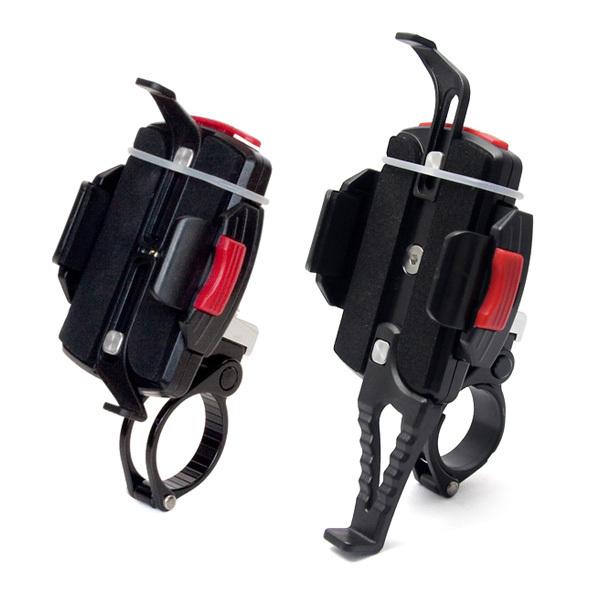 ミノウラ[MINOURA] iH-520-STD スマートフォン(スマホ)ホルダー 対応径:22.2/25.4/28.6mm 固定式バンド バッグ類