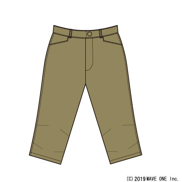 カペルミュール[KAPELMUUR] ストレッチ脚長クロップドパンツ [kpcp206] パンツ/スカート
