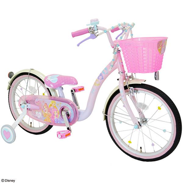 アイデス[ides] 2018 プリンセス ゆめカワ 18インチ 子供用 自転車 幼児車