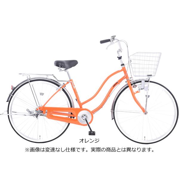 カジュリー リラックス-K 26 6段変速 ダイナモライト [オレンジ]