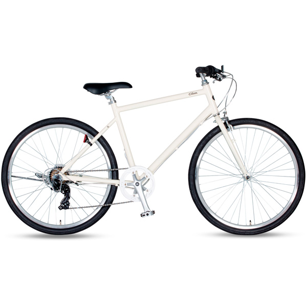 Cream City(クリーム シティ)266-J 26インチ 外装6段変速 ダイナモライト シティサイクル 自転車