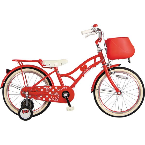おそろい自転車 ハローキティ-H 18 [レッド]