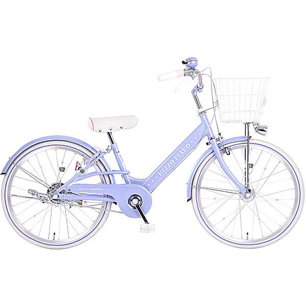 あさひ[ASAHI] メゾピアノ-L ナルミヤインターナショナル 22インチ 変速なし オートライト 子供用 自転車 ジュニアシティ車