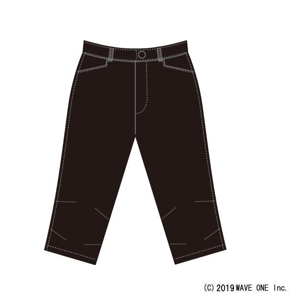 カペルミュール[KAPELMUUR] ストレッチ脚長クロップドパンツ [kpcp204] パンツ/スカート